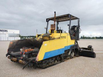 Repartizor de asphalt ABG Titan