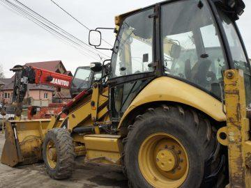 Buldoexcavator Caterpillar CAT 428 E an 2008