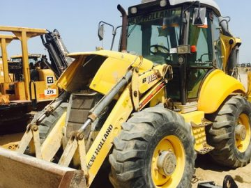 Buldoexcavator New Holland B115 an 2009