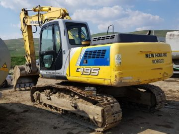 Excavator pe șenile New Holland Kobelco E 195