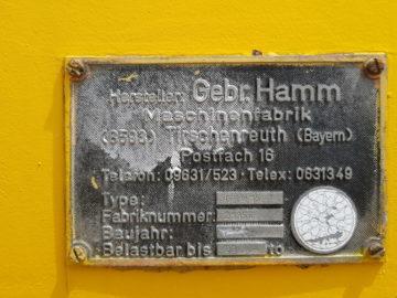 Cilindru compactor Hamm GR 15 Polipneu