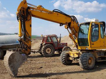 Excavator pe roți Liebherr A 316