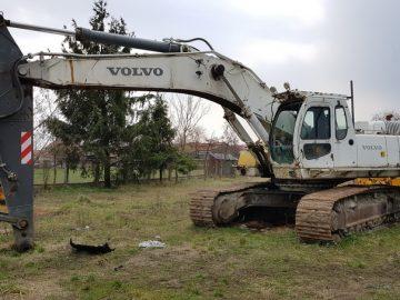 Excavator pe șenile Volvo EC 460 LC