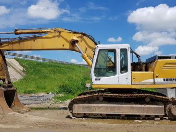 Excavator pe șenile Liebherr 944
