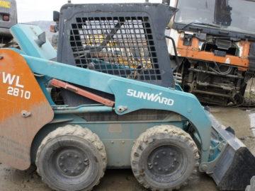 Mini încărcător frontal Sunward SWL 28.10 an 2009