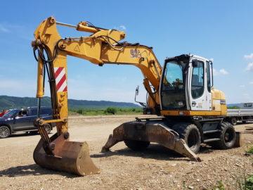 Excavator pe roți Liebherr 312