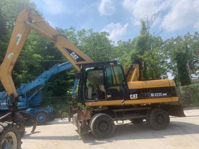 Excavator Caterpillar CAT M32C an 2007