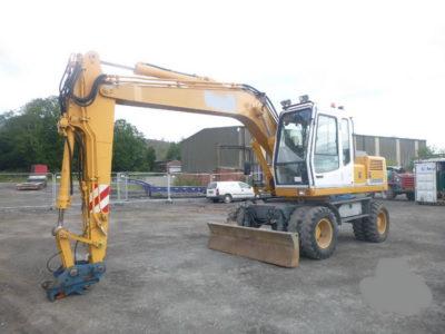 Excavator pe roți Liebherr 900