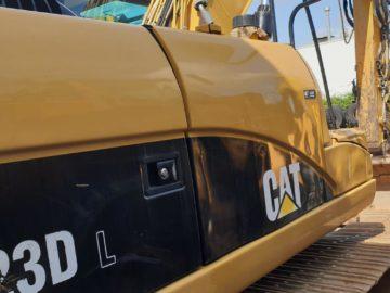 Excavator pe șenile Caterpillar CAT 323 D an 2010