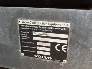 Excavator pe șenile Volvo EC 240 CL an 2013