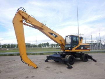 Excavator pe roți Caterpillar CAT M320 braț 11 m