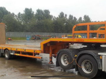 Trailer Nooteboom 4 axe