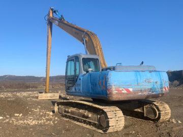 Excavator pe șenile CASE CX210 braț de 18 m