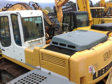 Excavator pe șenile Liebherr 904