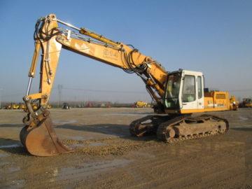 Excavator pe șenile Liebherr 914