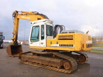 Excavator pe șenile Liebherr 924