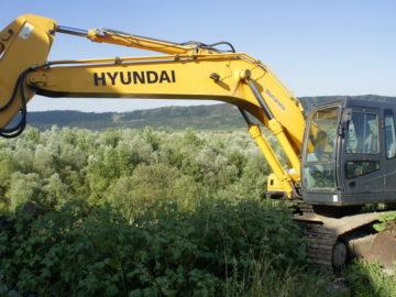 Excavator pe șenile Hyundai 250 NLC -7A