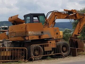 Excavator pe roți Case 788B