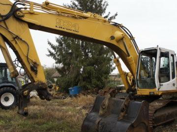 Excavator pe senile Liebherr R 934