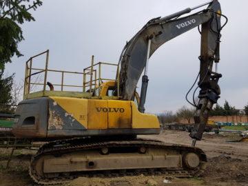 Excavator pe șenile Volvo EC 290