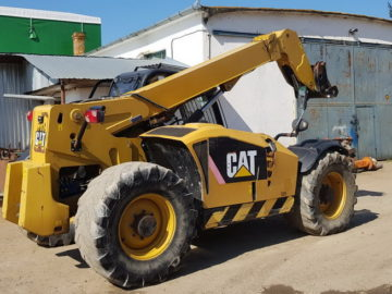 Încărcător telescopic Caterpillar CAT TH 407