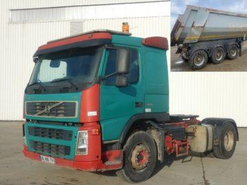 Volvo FM 400 cap tractor cu chit basculabil