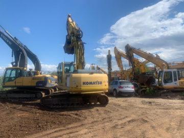 Excavator pe șenile Komatsu PC 210 LC an 2008