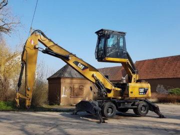 Excavator pe roți pentru fier vechi Caterpillar CAT M318 D MH an 2012