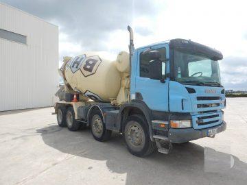 Scania R380 Autobetonieră 9 mc 8X4