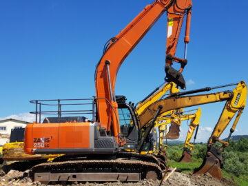 Excavator pe șenile HITACHI ZAXIS 250 NLC an 2012