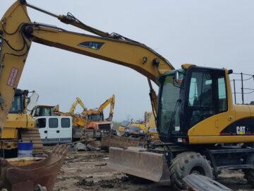 Excavator pe roți Caterpillar CAT M 313 C