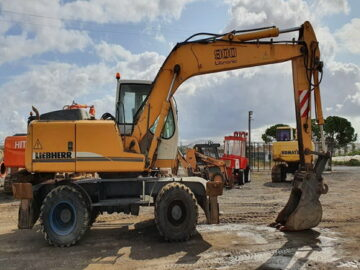 Excavator pe roți Liebherr 900 Litronic