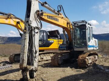 Excavator pe șenile Liebherr 914 C