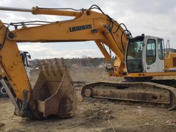 Excavatoare pe Liebherr 954