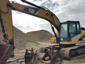 Excavator pe șenile Caterpillar CAT 320 DL