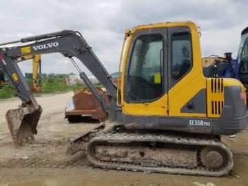 Excavator pe senile Volvo EC 55 B